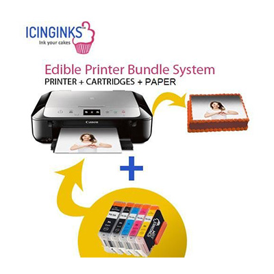 Icinginks Latest Edible Printer Bundle with 50 Wafer Sheets Review