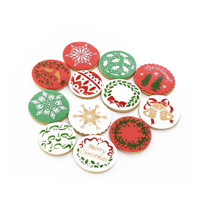 Christmas Cookie Stencils Fondant Cookie Mold Review