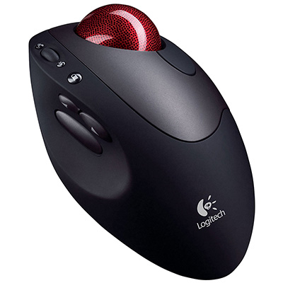 LOGITECH, INC. Optical TrackMan Cordless Mouse Review