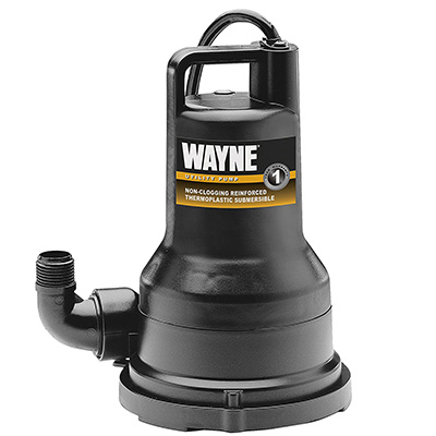 Wayne 1/2 HP Thermoplastic Water Removal Pump Review