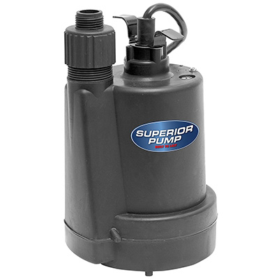 Superior Pump 91250 1/4 HP Submersible Utility Pump Review