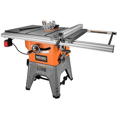 Ridgid 10 in. Cast IronTable Saw Review