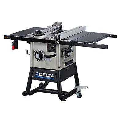 Delta 10-Inch Left Tilt Contractor Saw Review (36-5000)