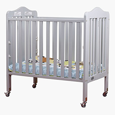 Orbelle Noa 3 Level Portable Crib Gray Review