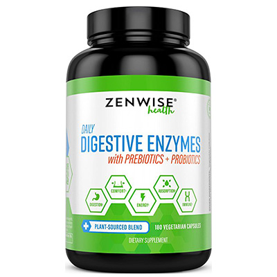 Digestive Enzymes Plus Prebiotics & Probiotics Review