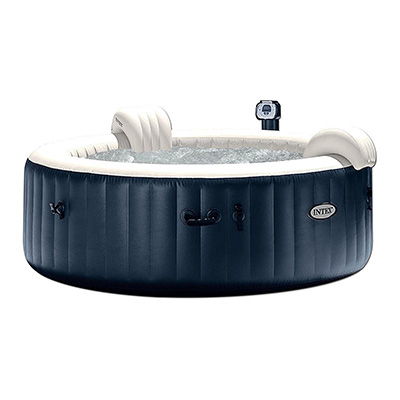 Intex PureSpa 28409E Inflatable Portable Hot Tub Review (6-Person)