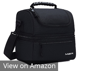 Mier Adult Lunch Box Insulated Lunch Bag Review