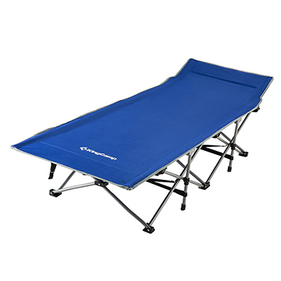 KingCamp Stable Strong Camping Folding Bed Cot with Bag Review