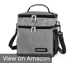 MAZFORCE Insulated Lunch Box Lunch Bag Review
