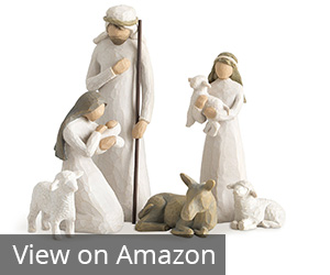 1. Demdaco Willow Tree Nativity Set