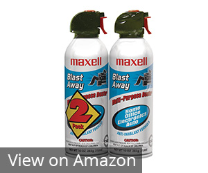 9. Maxell 190026 Blast Away Canned Air Review