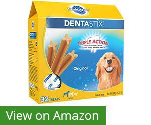 3. Pedigree Dentastix Large Dog Treats