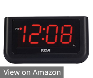 2. RCA Digital Alarm Clock
