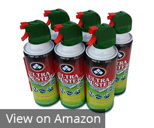 8. Ultra Duster Canned Air Net 10 Oz 6-Pack Review