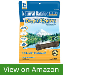 7. Natural Balance Dental Chews Dog Treats