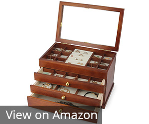 2. Kendal SI-1821B Jewelry Box Case Review