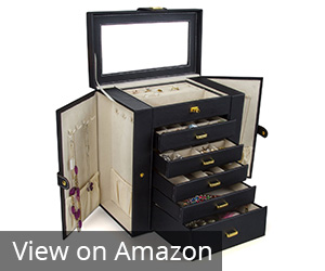 9. Kendal Black Jewelry Box/Case/Storage Review