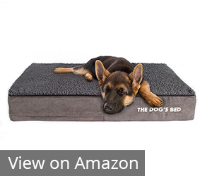3. The Dog's Balls Premium Waterproof Memory Foam Review
