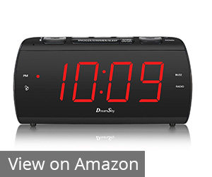 7. DreamSky Digital Alarm Clock Radio