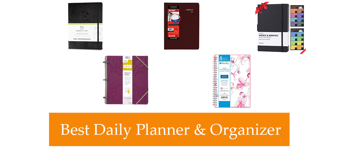 top 10 best daily planners organizers in 2018. Black Bedroom Furniture Sets. Home Design Ideas