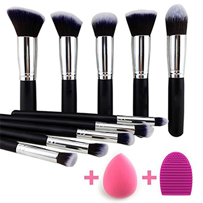 9. BEAKEY Premium Makeup Brush Set
