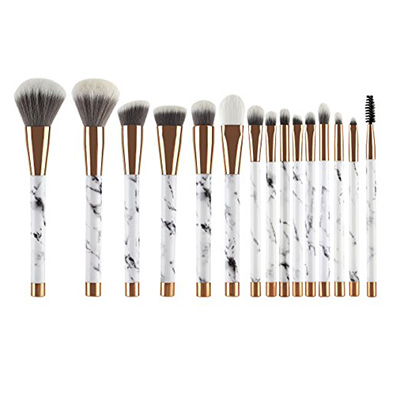 4. UNIMEIX 15-Piece Makeup Brush Set