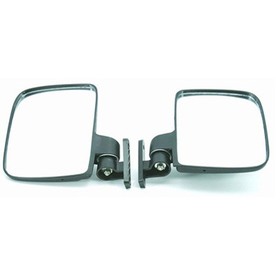 9. Red Hawk Side Mirrors