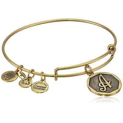 "10. Alex and Ani 2.5"" Expandable Bangle Bracelet"