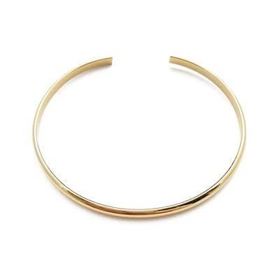 9. HONEYCAT Thin Open Bracelet