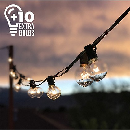 10. Outdoor Lighting Store 50ft String Lights