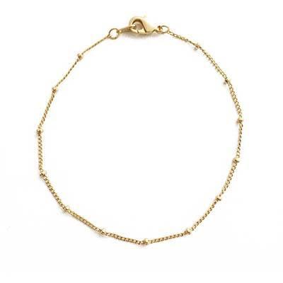 5. HONEYCAT Bead Ball + Chain Bracelet