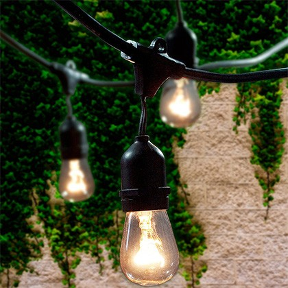 5. Lemontec Outdoor String Lights