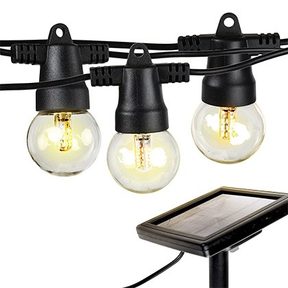 7. Brightech Solar Powered LED String Lights