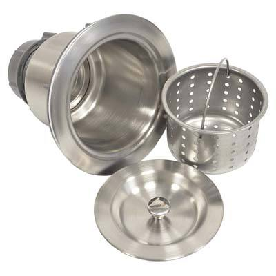 Coflex Brushed Nickel Strainer