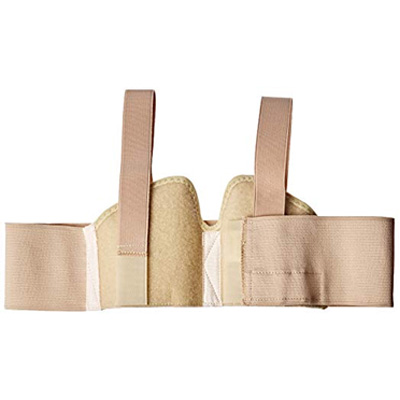 6. Curad Small Hernia Belt with Compression Pads