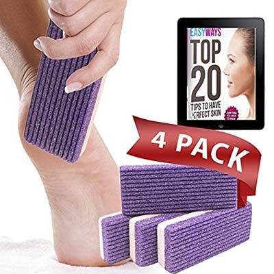 Love Pumice 2-in-1 Pumice Stone for Feet