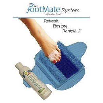 Footmate System Foot Scrubber, (Blue with Blue on Blue)