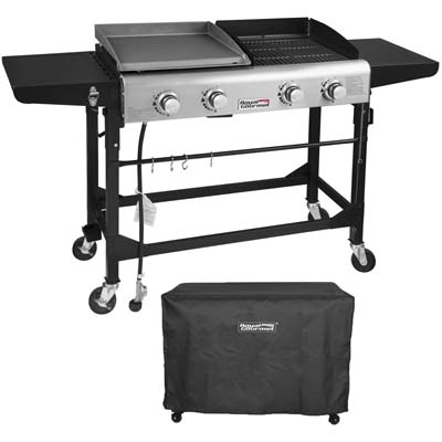 Royal Gourmet Propane Gas Grill and Griddle Combo