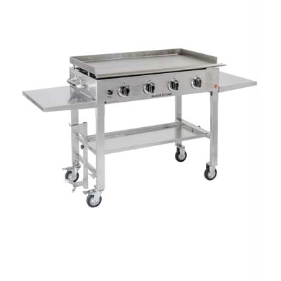 10. Blackstone Stainless Steel 36 inch Outdoor Cooking Griddle Station Gas Grill