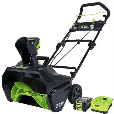 4 Greenworks PRO 80V Snow Thrower-cordless