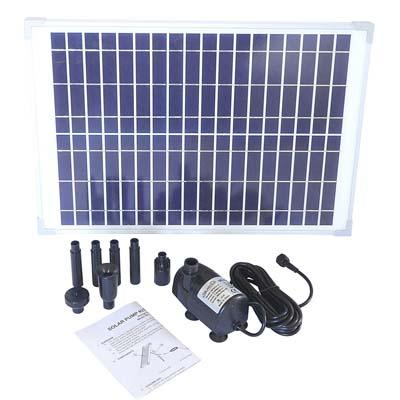 Solariver Solar Water Pump Kit (No Battery Backup)