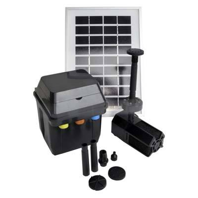 ASC 3 Watt Solar Panel with Water Pump