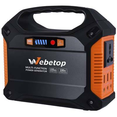 Webetop 155Wh 42000mAh Portable Inverter Battery Generator