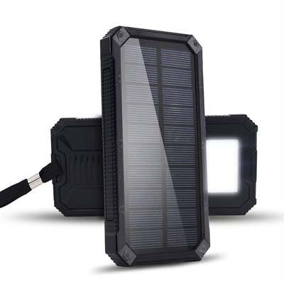 Renogy 15000mAh Solar Power Bank with LED Light