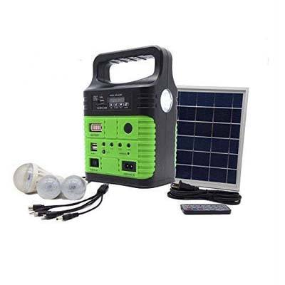 Wegner Portable Solar Generator with Solar Panel