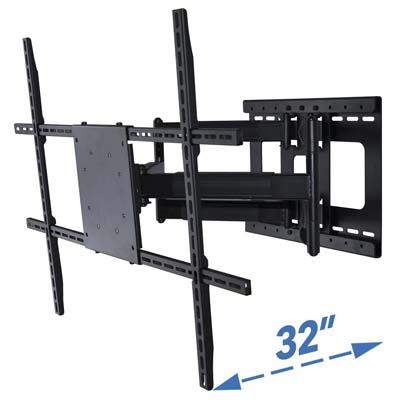 10. Aeon Stands and Mounts Full Motion 32-inch TV Wall Mount