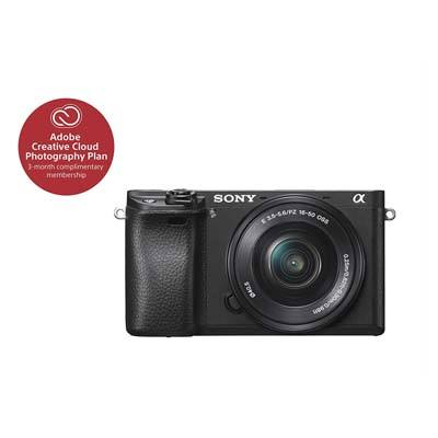Sony Alpha a6300 Mirrorless Digital Camera with E PZ 16-50mm