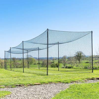 2. Fortress Ultimate Batting Cage for Baseball with Steel Poles