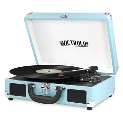 5. Victrola Bluetooth Suitcase Turntable Review