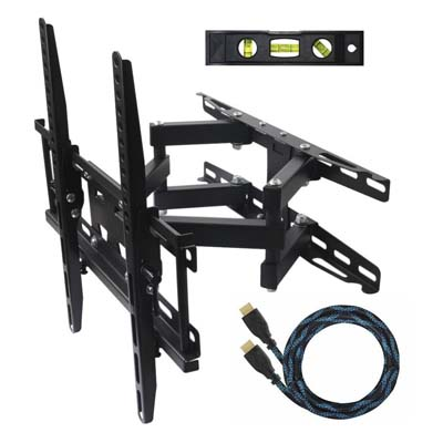 1. ECO-BEST(TM) Cantilever Corner TV Wall Mount Bracket